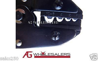 Anderson Plug & Non Insulated Lug Crimping Tool Terminal Cable Crimp Wire 4