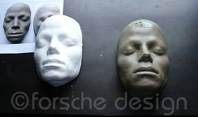 Michael Jackson Life Mask/Cast From Thriller Video, Sculptor William Forsche 5