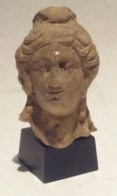 Ancient Terracotta head of Apollo or Alexander the Great 2
