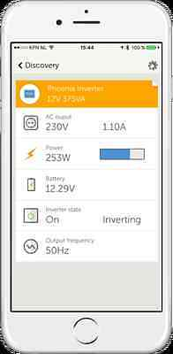 victron energy phoenix vrai Sinus convertisseur 12V 400 Watt IEC Out