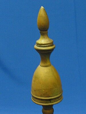 American Federal Style Brass & Cast Iron Andirons 3