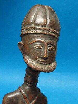 COTE d'IVOIRE BAULE DOGON WOOD CARVING : FERTLITY GOD