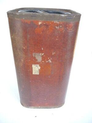 Große Apothekerdose Pappe Bakelit Aufbewahrung um 1900 6
