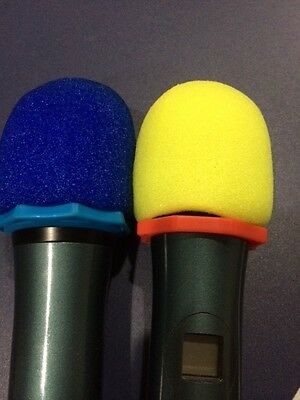 5 X  High Quality Microphone Windscreen Foam Mic Cover Extra Thick 15mm 2