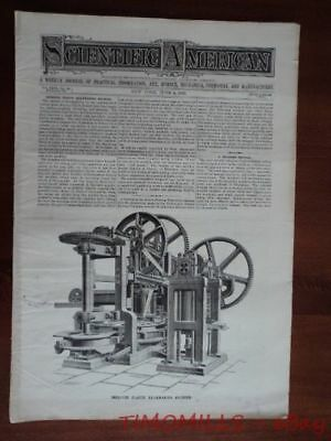 1892 Crossley Brothers Otto Gas Engine Magazine Antique Brickmaking Machinery 3