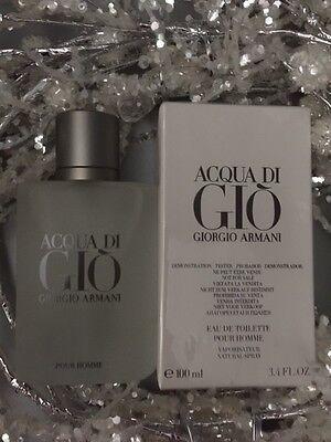 Acqua Di Gio  3.4 Oz. Men SPRAY EDT COLOGNE **NEW IN BOX** GIORGIO ARMANI 3