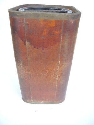 Große Apothekerdose Pappe Bakelit Aufbewahrung um 1900 5
