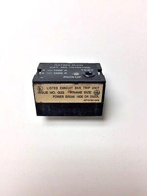 Tr10S1000 Ge Rating Plug, New Surplus