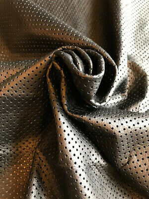 Cognac Craft Leather Hides Soft Lambskin Fabric Upholstery Material Supply F882