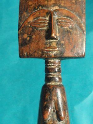 Superb Antique Fanti Fertility Goddess Figure: Ghana