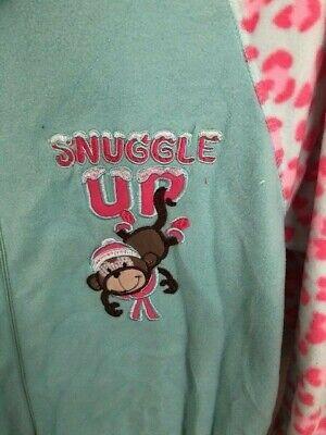 Primark Monkey Girls All In One Pyjamas Age 13 3