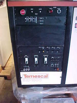 Temescal BJD-1800 BOX COATER with 8 Thermal  Evaporation Sources 4