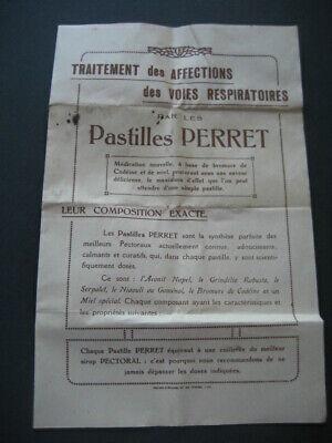 Metall Box Taschenapotheke Pastillen Perret Francesa. mit Bpz Innen 5