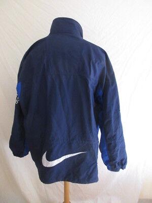 VESTE DE SURVÊTEMENT vintage des années 90 Nike Bleu Taille