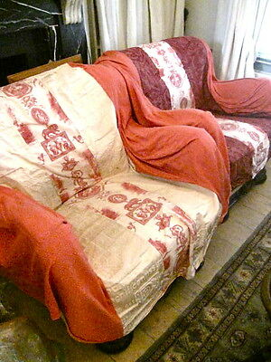 Stunningly Beautiful ART DECO Sofa and 2 Armchairs GORGEOUS! Worth over £5,000!! 12