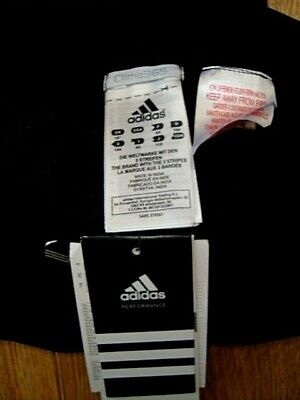 New Adidas Girls Gym Workout 3/4 Length Black Leggins Age 4 Yrs 108 Bnwt 5