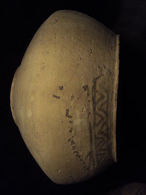 Ancient Huge Size Teracotta Painted Pot with Fishes Indus Valley 2500 BC  #SG617 5