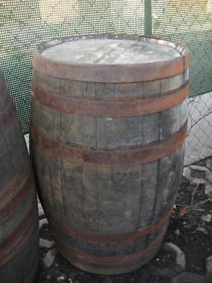 Neu 100-300L Fass Regentonne Weinfass Eichenfass Holzfass Wasserfass Wassertonne