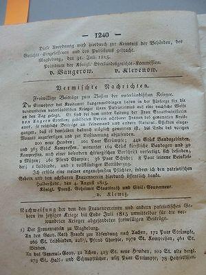 1815 124 Erxleben Hasselburg von Alvensleben