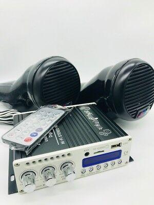 Yamaha FZR FZS EX JET SKI 2 SPEAKER KIT AUDIO AMP BLUETOOTH SYSTEM UNIVERSAL FIT