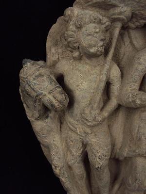 Ancient Large Size Schist Stone Stupa Panel Gandharan/Gandhara 100 AD  #SG2103 5