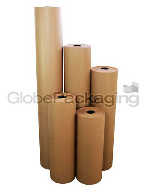 Strong Brown Kraft Wrapping Parcel Paper 90Gsm Free P&P 4