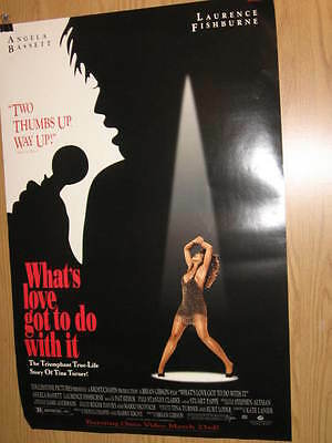 What's Love Got To Do With It Tina Turner U.s. Poster Angela Bassett Fishburne