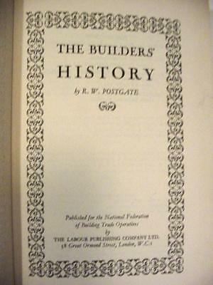 Postgate. The Builders History. 2