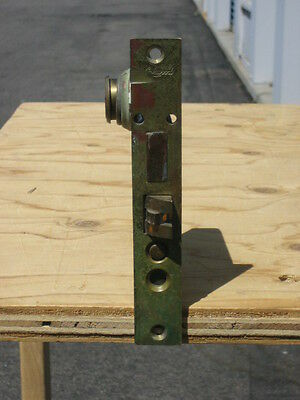 """vintage colewood cast iron mortise lock with key 4 1/2"""" x 6"""" 6"""