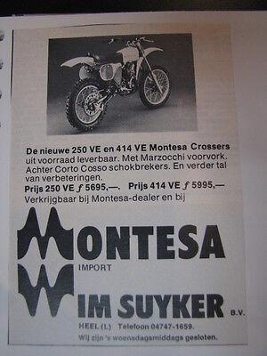 Clippings + photos Montesa 125 / 250 / 360cc (jaren 70 / 80 GER/ESP/NED) 5