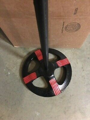 """Original FORD GUMBALL MACHINE Stand """"Hard to find this item """" black and red 3"""