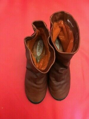 Softinos Women's Ankle Boots Brown UK 5 (fits UK 4.5) 5