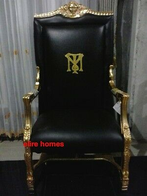 4 Of 7 Bespoke Tony Montana Al Pacino Scarface Armchair Throne Chair