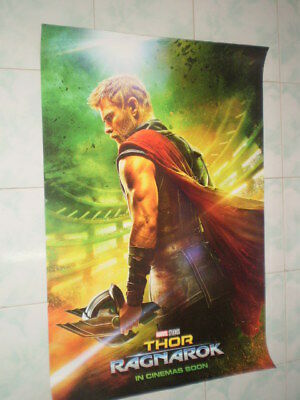 Movie Thor Ragnarok Poster Original Marvel 2017 27x40 Theater Ds S Sided 5