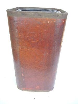Große Apothekerdose Pappe Bakelit Aufbewahrung um 1900 7