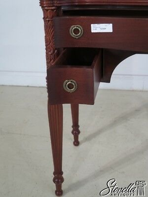 28969: WELLINGTON HALL Sheraton Mahogany 3 Drawer Server
