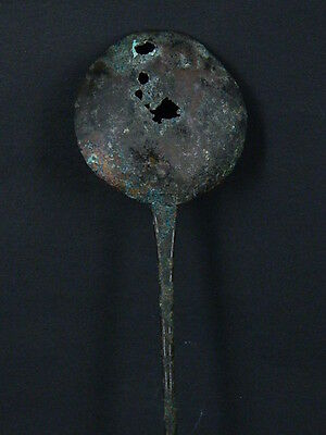Ancient Large Size Bronze Spoon Islamic 1200 AD     #S3387 5