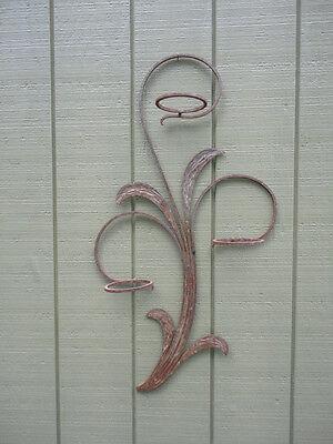 Vintage Blacksmith Art Hand Forged Decorative Garden Flower Plant Pot Holder 7