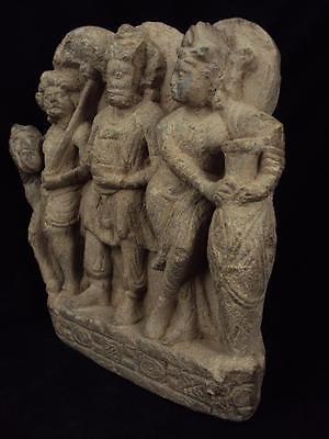 Ancient Large Size Schist Stone Stupa Panel Gandharan/Gandhara 100 AD  #SG2103 9