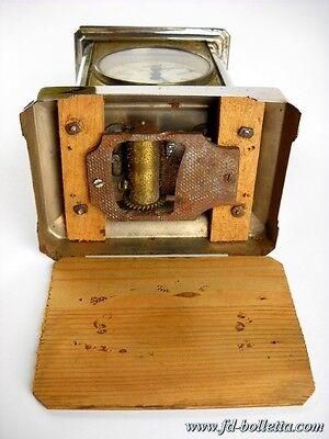 Sveglia antica cappuccina in metallo da tavolo,antiche sveglie da viaggio a 132