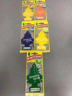 10 x Orginal Wunderbaum Lufterfrischer 5Sorten je 2Stück Hammer Preis 3