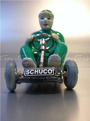 Original Schuco Go-Kart Micro Racer 1035 Grün Mit Originalverpackung(Ab) 4