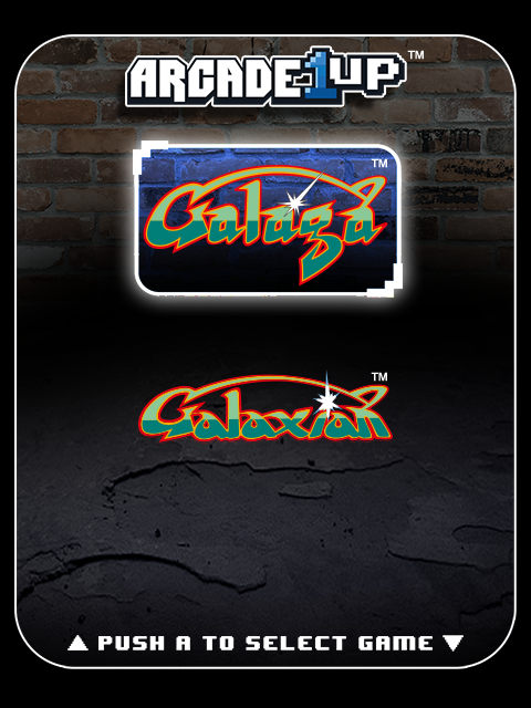 Arcade1UP GALAGA Fast Fire! Upgrade Service,Flash to latest software,Rapid shoot 3
