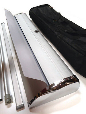 40x79 DELUXE Retractable Banner Stand Roll Up Trade Show Display Sign