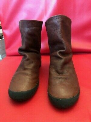 Softinos Women's Ankle Boots Brown UK 5 (fits UK 4.5) 4