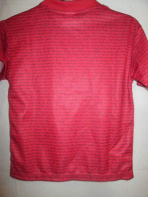 "Darlington 2007-2008 Limited Edition Away Football Shirt Size 24""-26""  YXS /sh 3"