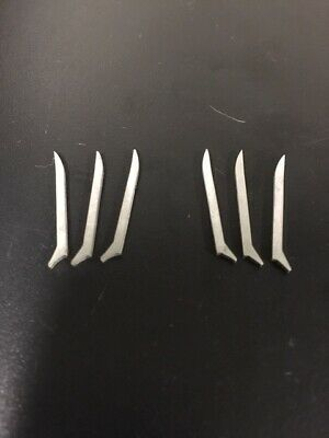 Marvel Legends Wolverine Custom Metal Claws Stainless Steel Upgrade 6 Piece Set! 12