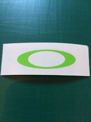 Oakley O's Rossi Visor Decals yellow x4 stickers all colours Free Delivery 6
