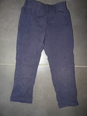 Ensemble T-shirt mauve imprimé Kidkanaï + legging uni violet TAO Taille 3 ans 4