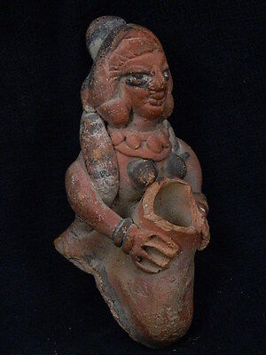 Ancient Teracotta Painted Figure Indus Valley 600 BC #SG4647 4